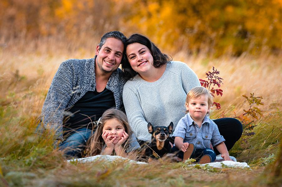 Fall family in St. Albert